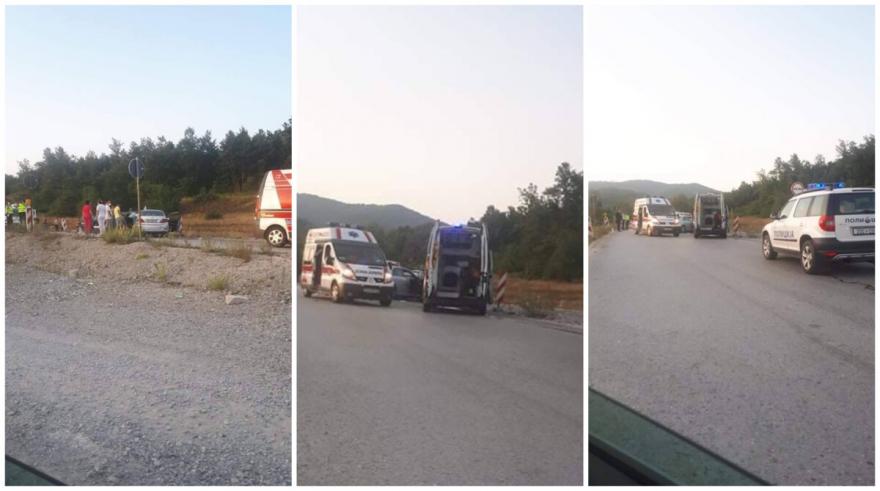 Еден загинат и неколку повредени во сообраќајка на патот Охрид- Кичево