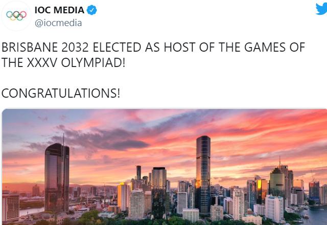 """ФОТО: Познат домаќинот на ЛОИ за 2032 година, Австралија во """"екстаза"""""""