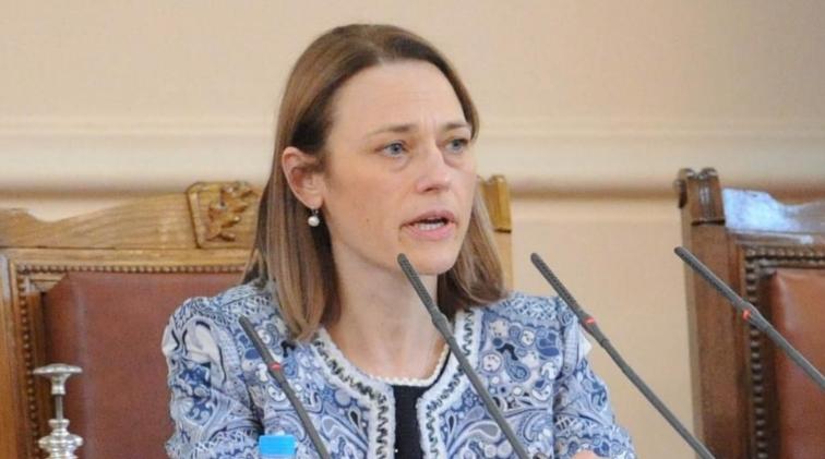 Ива Митева избрана за претседател на Народното собрание на Бугарија