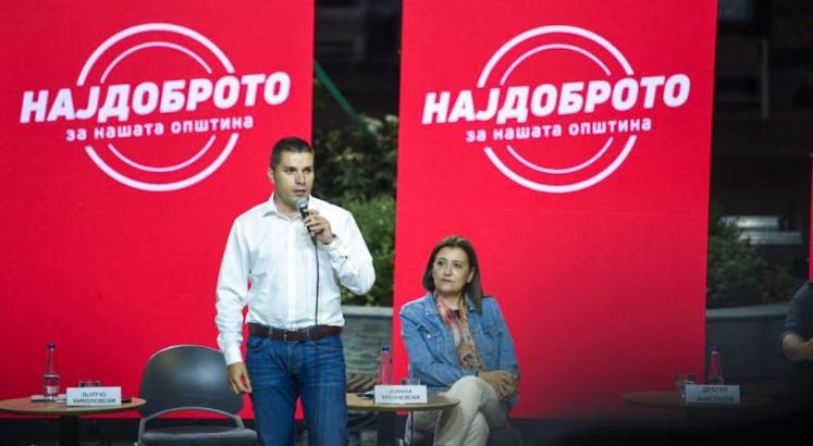Љупчо Николовски: Најдоброто е во СДСМ, на секому му е јасно тоа
