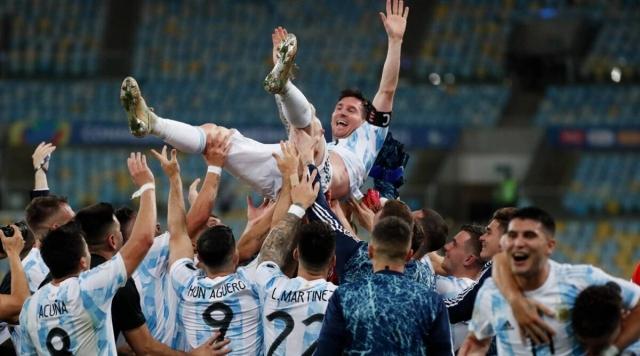 Аргентина триумфира во Копа Америка