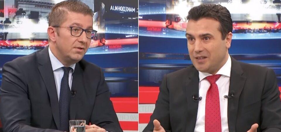 Заев одби ТВ-дуел со Мицкоски на тема спорот со Бугарија