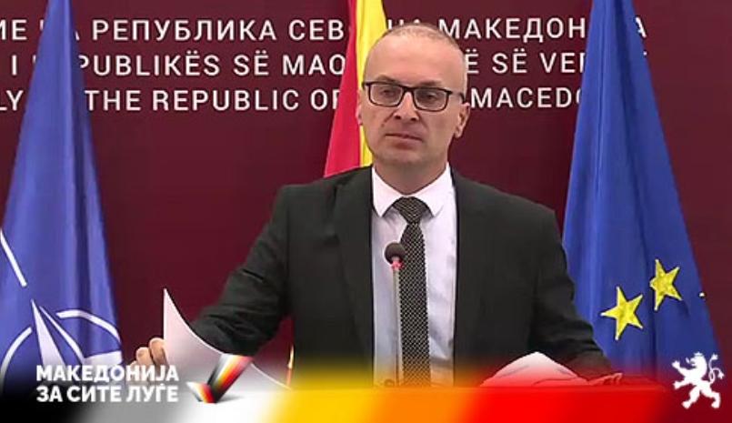 Милошоски: Очекувам сите политички партии да ја подржат Резолуцијата и да имаме јасни македонски позиции