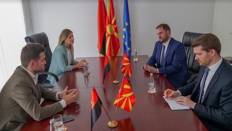 Митева и Муцунски остварија средба со Сагарц, пратеник во Европскиот парламент и известител во сенка за Република Македонија