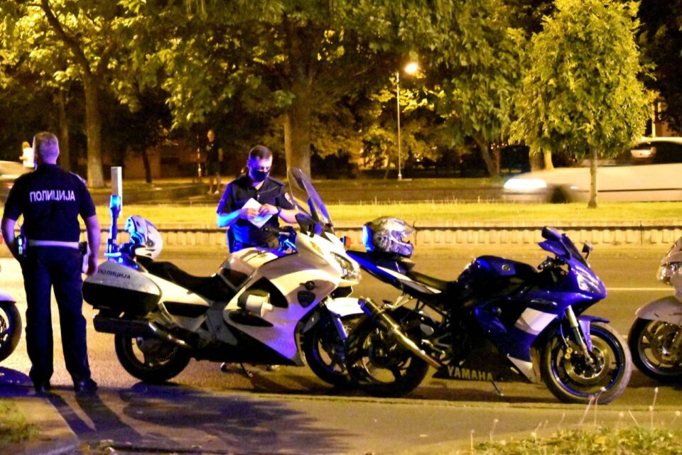 Во Штип санкционирани 25 возачи за пребрзо возење – одземени се 18 мотоцикли