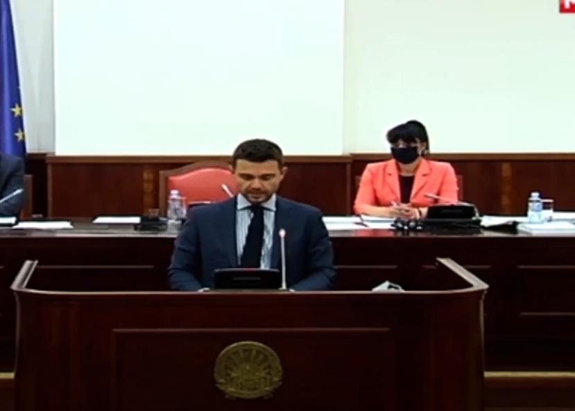Муцунски: Ребалансот на буџетот е кулминација на неодговорното економско работење на владата на СДСМ, јавниот долг е на највисоко ниво, нема инвестиции, нема проекти
