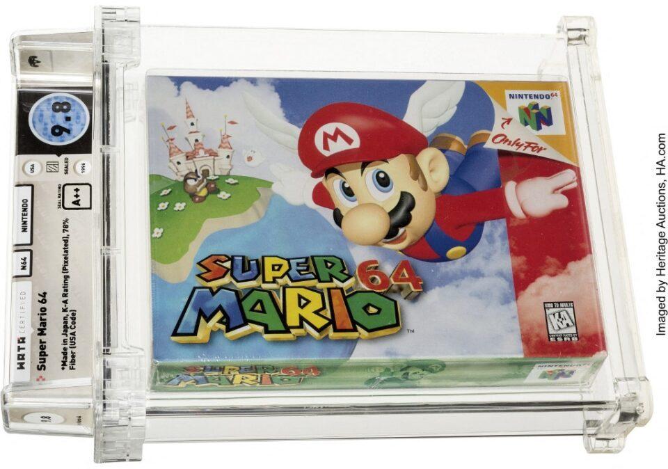 """ПОВТОРНО СРУШЕН РЕКОРДОТ: Играта """"Супер Марио"""" продадена за 1,56 милиони долари"""