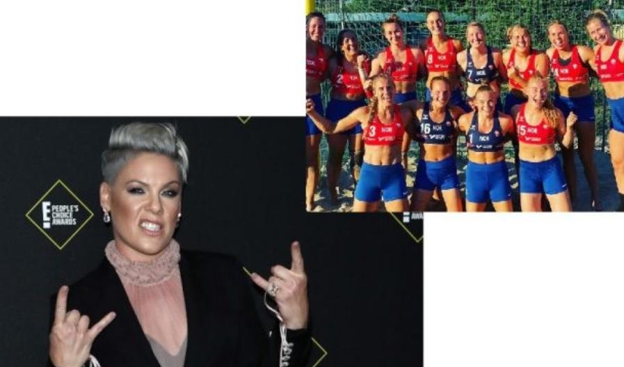 Пинк ќе ја плати казната на норвешките ракометарки: Одбија да играат во бикини, па еве што се случи