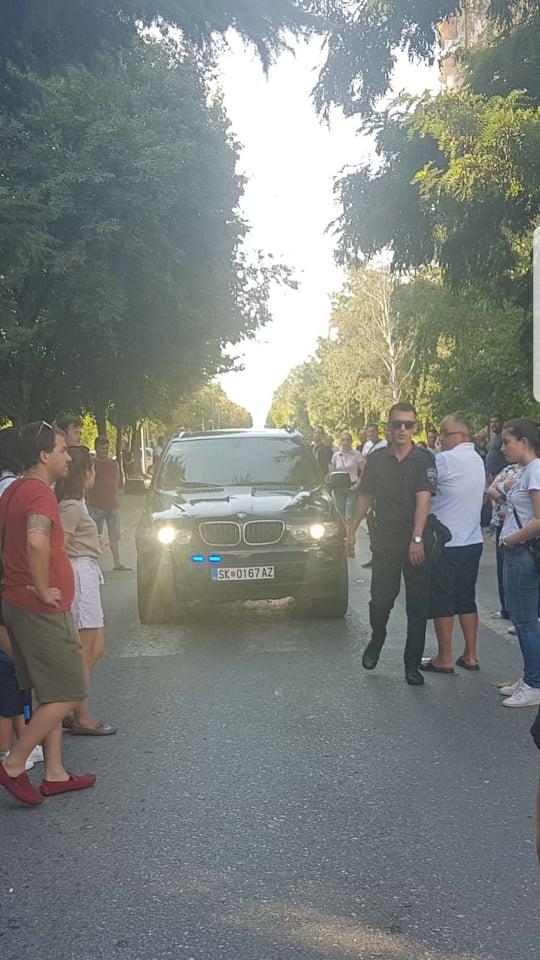Инцидент на протестот во Железара (ВИДЕО)
