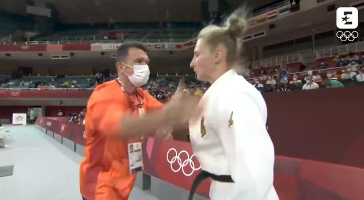 ОИ: Опоменат тренерот кој и удри две шлаканици на џудистката, а нејзниот одговор ќе ве шокира