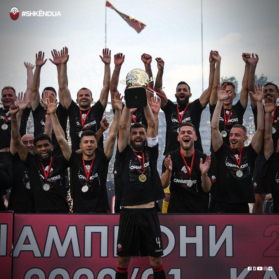 Шкендија од Кавадарци ќе ја започне одбраната на титулата во ПМФЛ