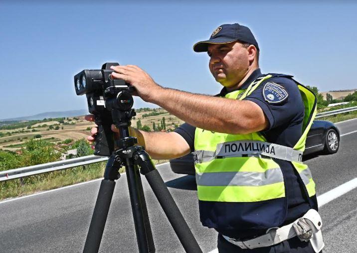 Казнети 142 возачи, возеле брзо низ Скопје