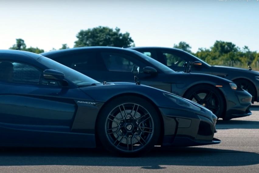 """(Видео) Дали """"обичните"""" спортски автомобили имаат шанса против """"Rimac Nevera""""?"""