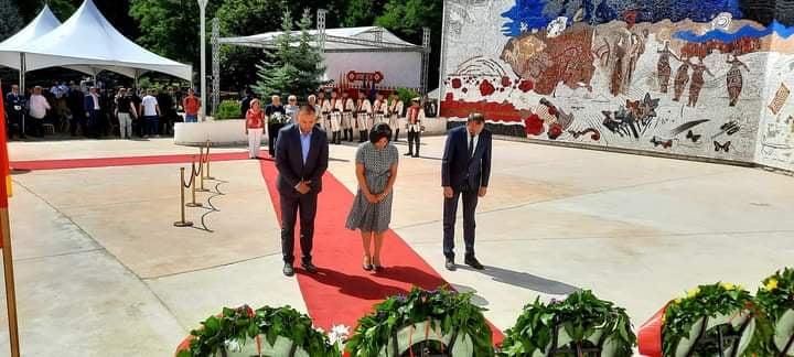 Петрушевски: Македонскиот народ мора да биде сплотен и да сфати дека ова не е само обично парче земја- Македонија е историја