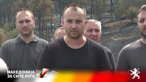 Лефков: Стојанче Ангелов и власта целосно потфрлија со справување од огнената стихија и ги оставија граѓаните на цедило, одговорност мора да има