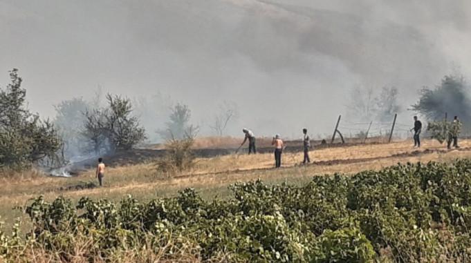 Пожарот кај Кочани локализиран, денеска ќе се гасне огнот во атарот на планинското село Костин Дол