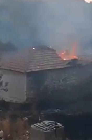 ПЕКОЛНО ВИДЕО: Огнот го проголта селото Зубовце во Куманово