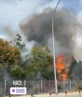 ЛИНДАНОТ ВО ОХИС Е ТЕМПИРАНА БОМБА: Огнот се уште беснее, еден пожарникар однесен итно во болница – НАЈНОВИ ДЕТАЛИ!