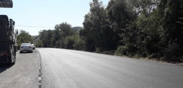 Во прекин патот Велес-Штип кај Градската депонија поради намалена видливост од пожар