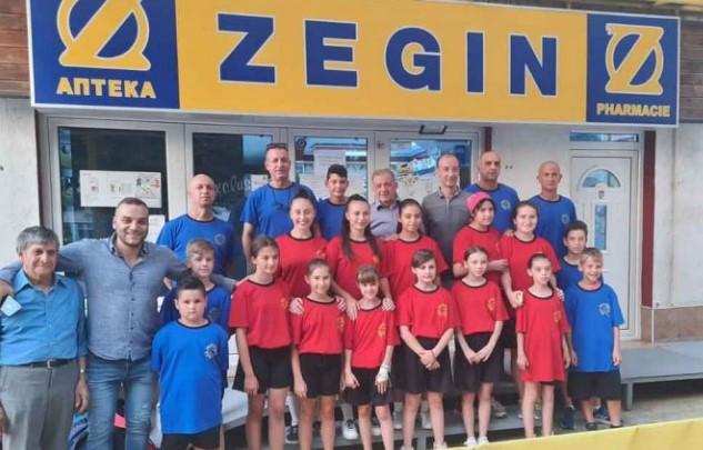 """""""Зегин"""" со донација во спортска опрема за младите пингпонгари од Берово"""