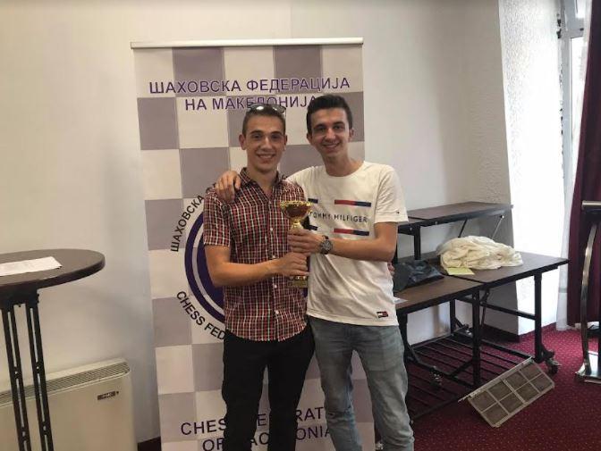 Филип Михов од ШК Алкалоид е нов државен шампион во поединечна конкуренција