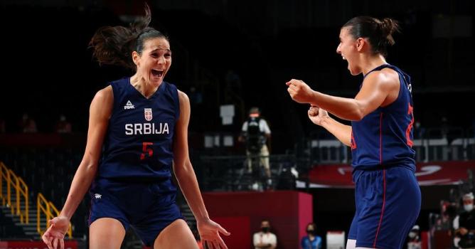 Епски пресврт на Србинките, ја совладаа Кина и закажаа полуфинале со САД