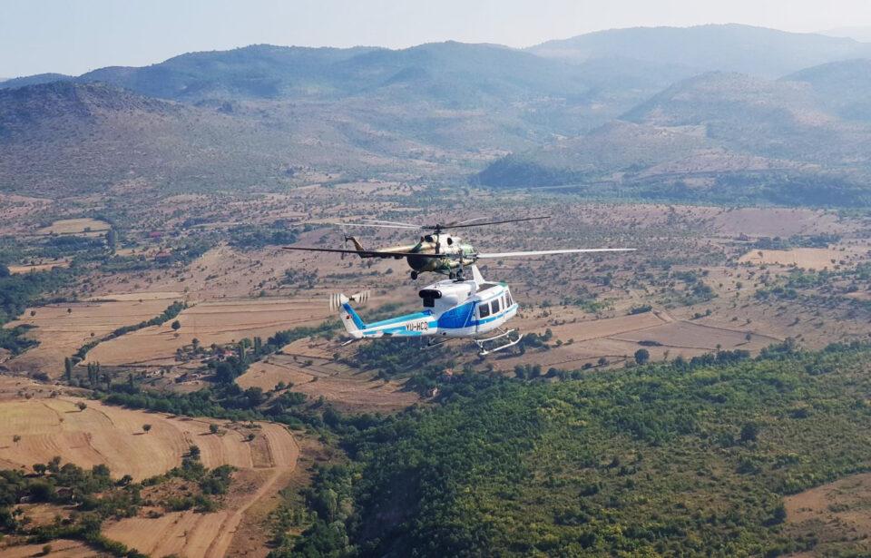 Поради правни пречки хеликоптерите се враќаат до Скопје по гориво