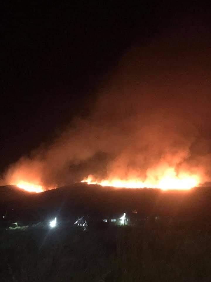 Се гасне пожарот кај Пасјак во делчевско-пехчевскиот појас, вклучена е Армијата