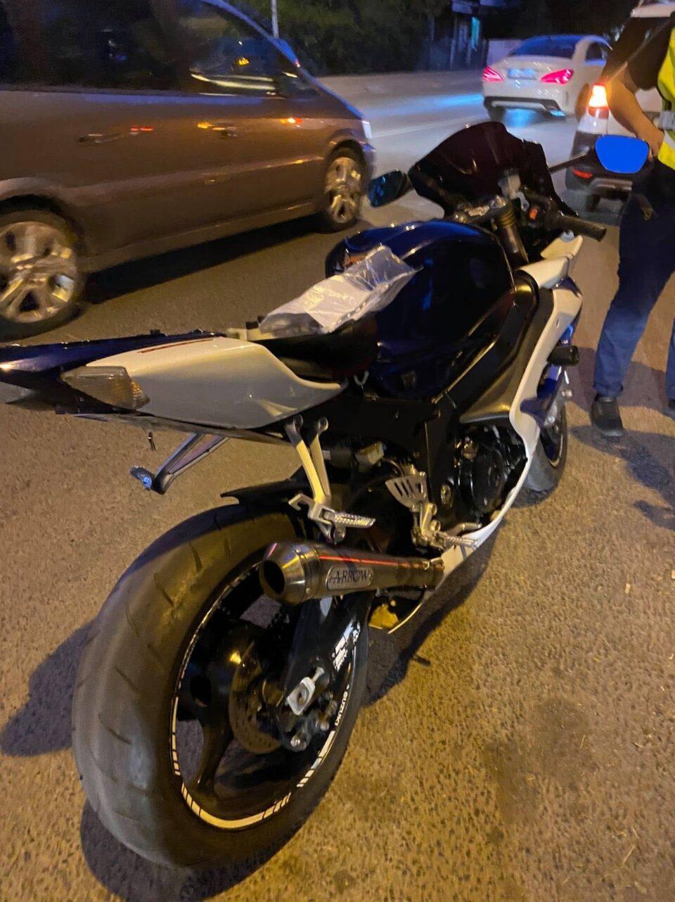 МВР: 188 санкционирани возачи на мотоцикли