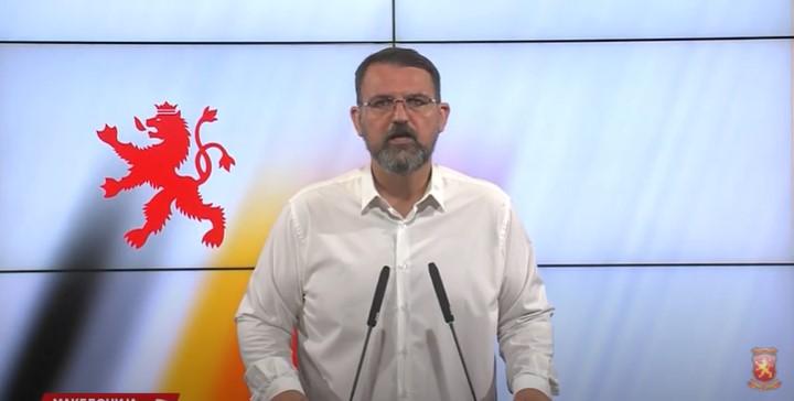 Стоилковски: Стојанче Ангелов има 1 милион денари за мобилни телефони, а нема средства за поправка на канадерите