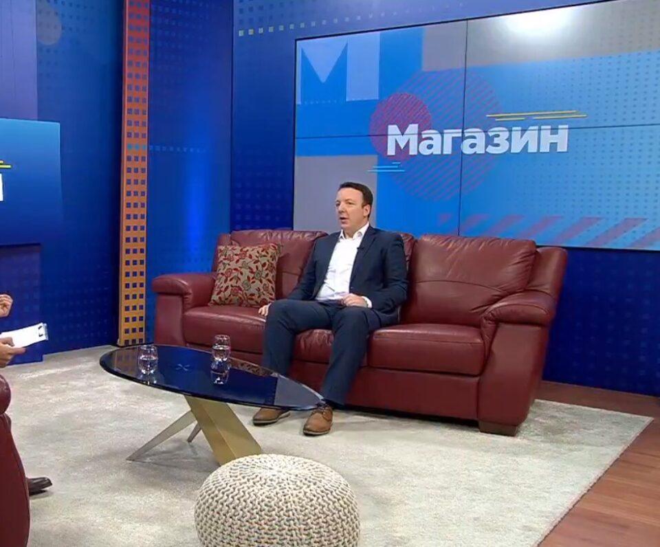 Александар Николоски во друго издание – обожавам уметност и музика… Погледнете ја емисијата магазин во која гостин беше потпретседателот на ВМРО-ДПМНЕ