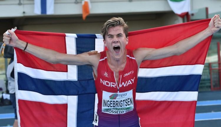 Норвежанецот Ингебригстен го освои златото во трката на 1500 метри со олимписки рекорд