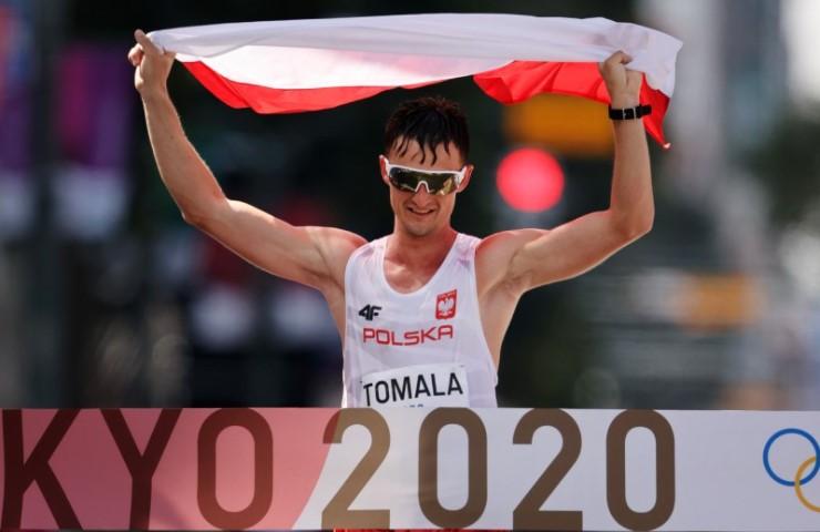 Полјакот Томала е последен олимписки победник во трка на 50 километри брзо одење
