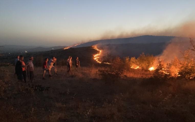 Пожарите не стивнуваат: Активни се на повеќе места ширум Македонија – ДЕТАЛИ ЗА СОСТОЈБАТА