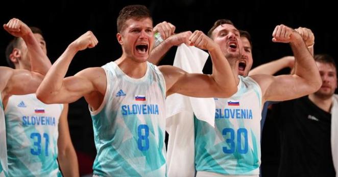 Дончиќ и Словенците веќе се во медал зоната: Лесно декласирана Германија