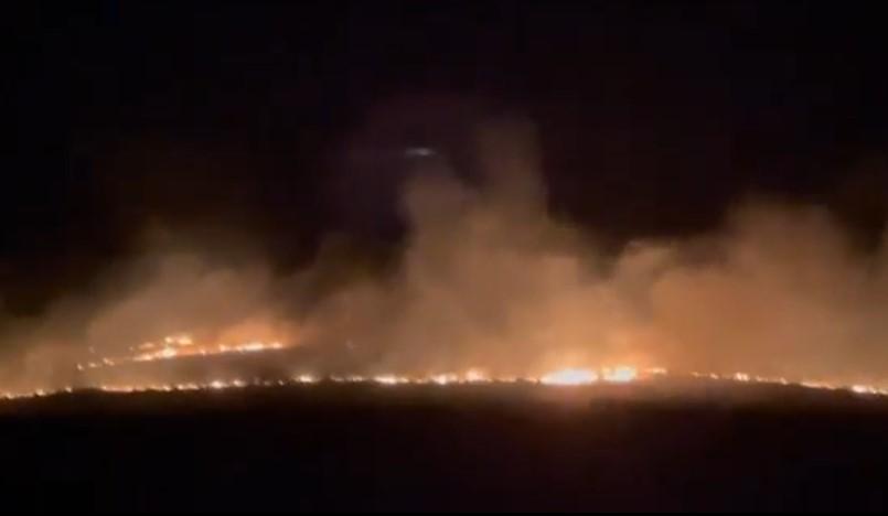 Мицкоски од кочанско Тркање: Народот се самоорганизира против страотниот пожар, потребна е помош!