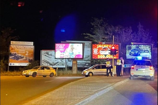 Сообраќајна несреќа вечерва во Скопје, во овој дел од градот сообраќајот е отежнат