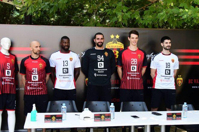 ФОТО: РК Вардар ги промовира новите дресови