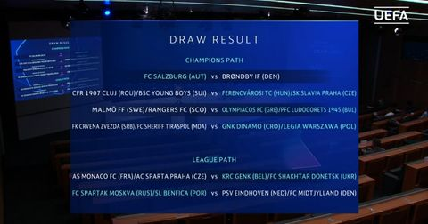 ЛШ: Црвена Звезда и Динамо Загреб ќе се сретнат доколку го поминат 3.коло од квалификациите