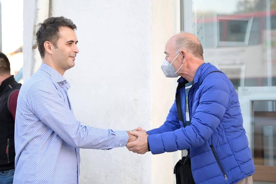 """Стојкоски: Со проектот """"Ѓорче Петров без кал"""" ќе ги опфатиме сите улици во урбаниот и руралниот дел на општината"""