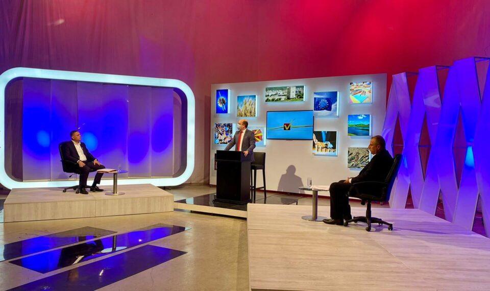 Митко Јанчев вечер на ТВ дуел со својот противкандидат од СДСМ