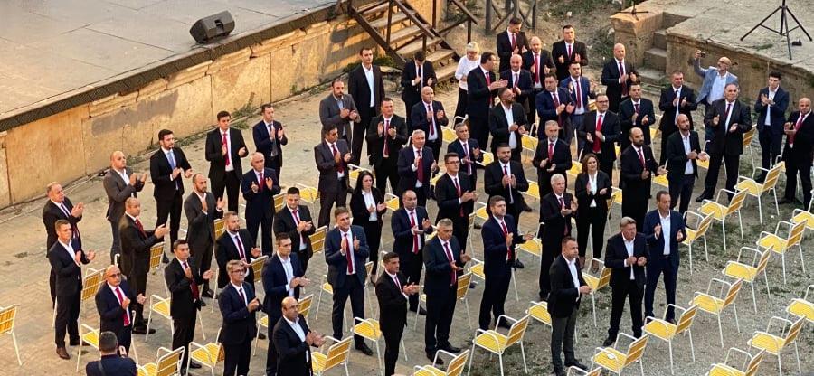 ВМРО-ДПМНЕ од Охрид ја започна изборната трка за локалните избори (ФОТО)