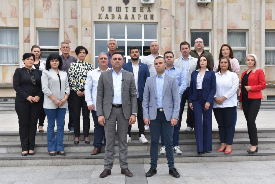 Јанчев ги промовираше кандидатите за советници во Кавадарци