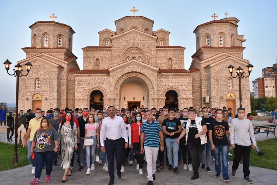 ФОТО: Кавадарчани застанаа позади Митко Јанчев