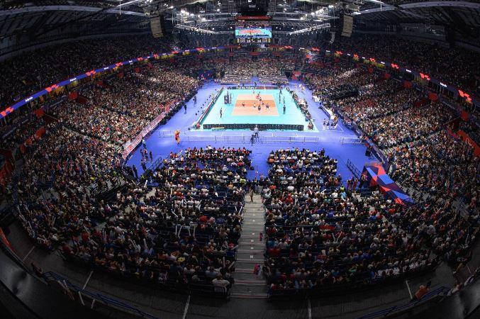 Русија и Полска први четвртфиналисти на ЕП во одбојка