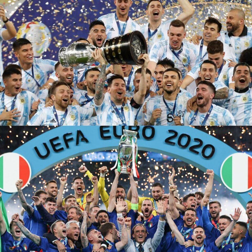 """Италија и Аргентина за трофејот на """"Финалисимо"""""""