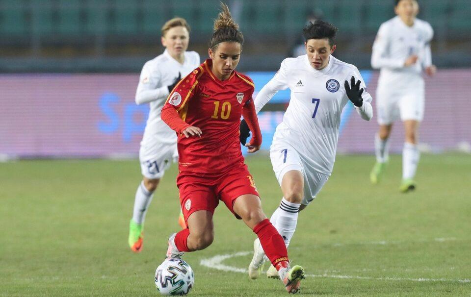 Македонските фудбалерки загубија 8-0 од Англија