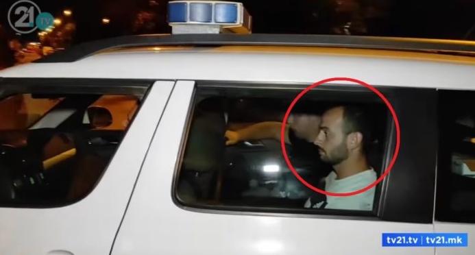 ВИДЕО: Уапсен организаторот на вчерашниот протест во Тетово, му се заканува од 1 до 3 години казна затвор
