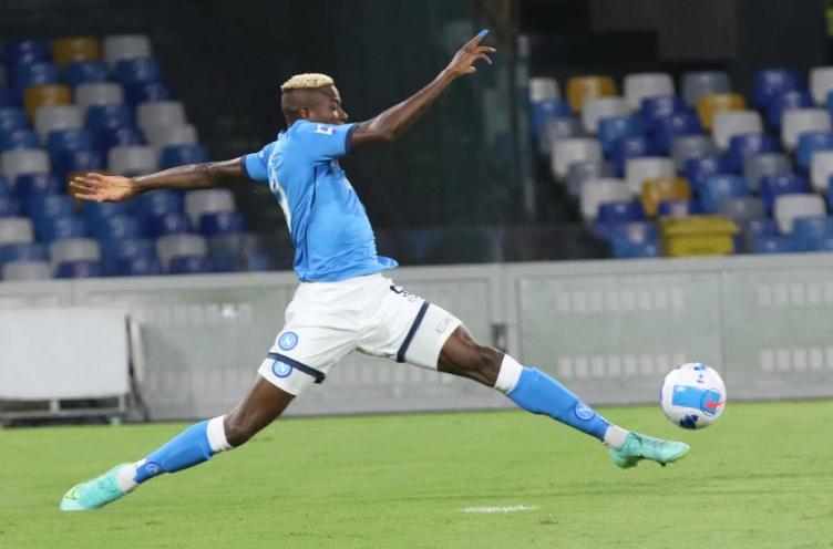 Осимен: Среќен што му помогнав на Наполи со два гола да освои бод против Лестер