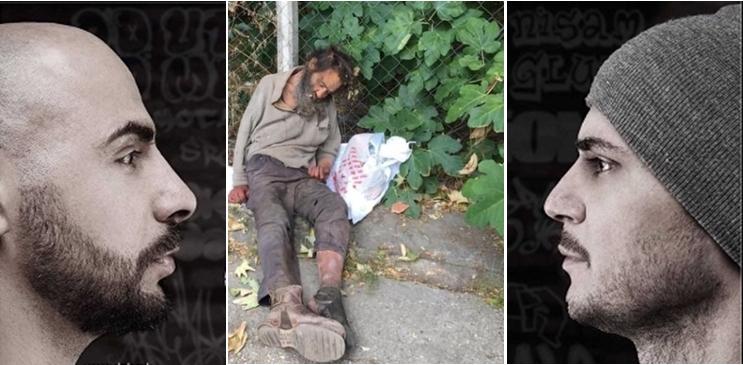 """Панчо и Андреј од ДНК понудија лекување на бездомно лице: Естрадните уметници повторно покажаа дека се многу повеќе од забавувачи, додека власта и системот одново потврдија колку се """"трули и распаднати"""" (ФОТО)"""